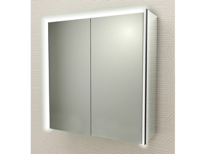 BATHROOM MIRROR LED BH CABINET 75x70 WITH 2 DOORS