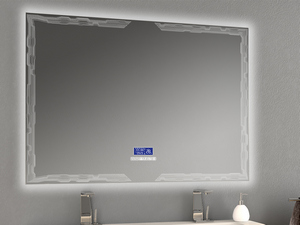 BATHROOM MIRROR LED BH MULTIMEDIA 120x90 WITH FRAME