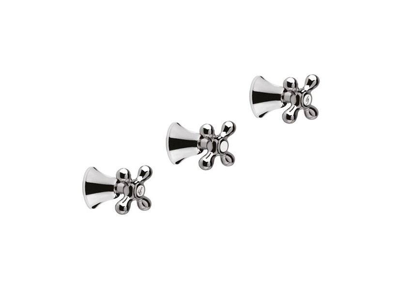 OLIMPIA SHOWER MIXER TRIM WITH DIVERTER CHROME