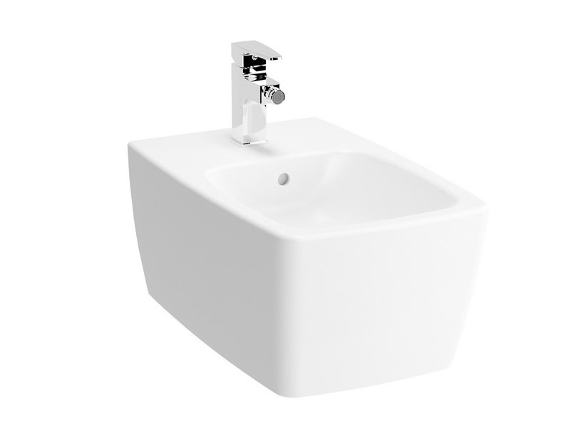 METROPOLE WALL-HUNG BIDET WHITE MATT