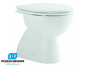 COLIBRI 2 WC 53x36 WHITE FLOOR-MOUNT