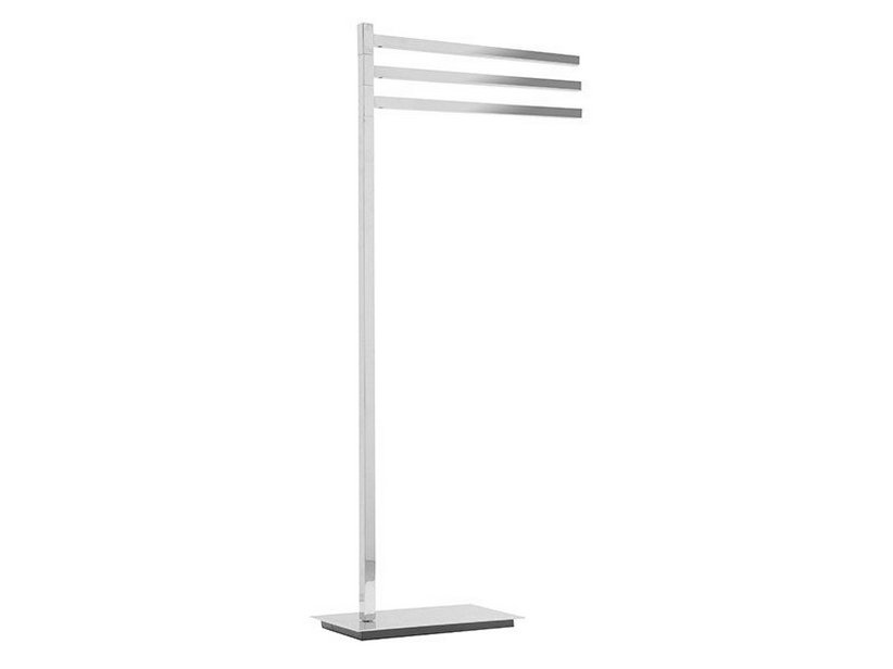 ZERO SERIES FREE-STANDING RACK WITH THREE HINGED ARMS