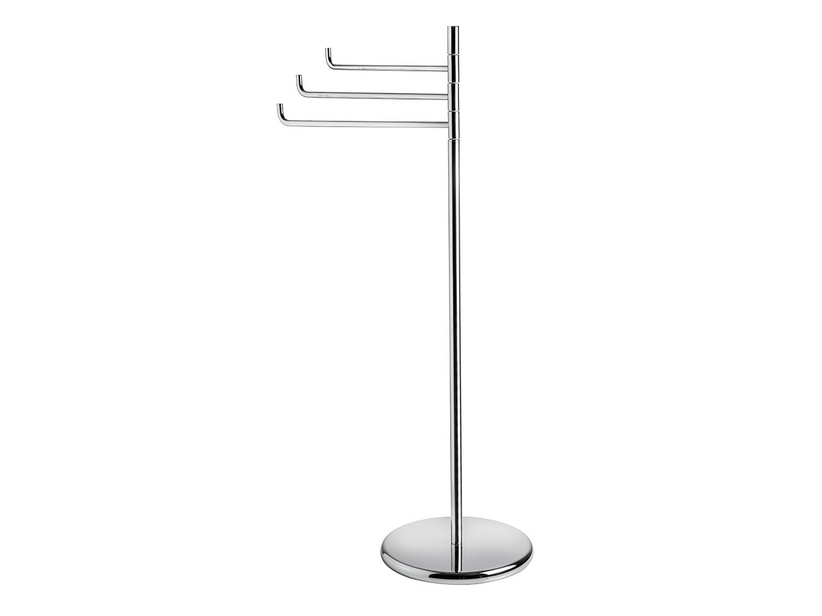 AGO SERIES FREESTANDING TOWEL RACK WITH 3 ARTICULATED ARMS