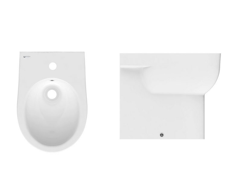 ASTRA BIDET FLOOR MOUNT WHITE