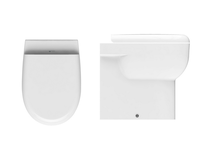 ASTRA RIMLESS BACK-TO-WALL FLOOR-MOUNTED PAN WHITE