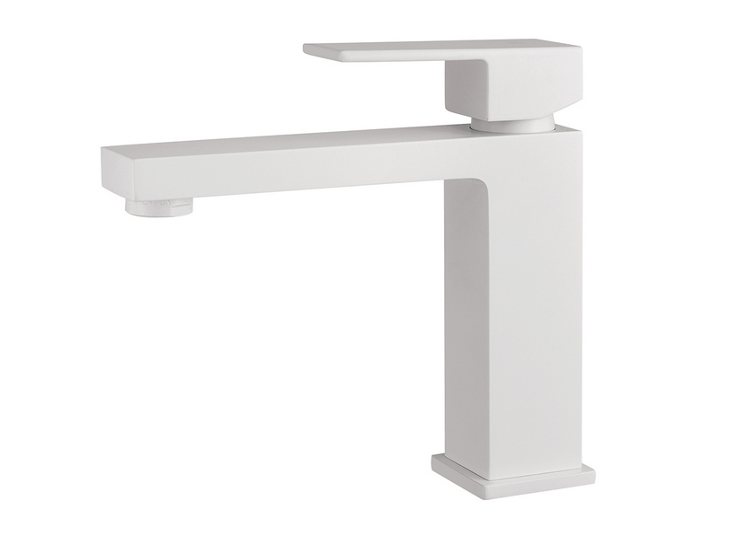 BARBARA BASIN TAP XL WITHOUT DRAIN WHITE MATT