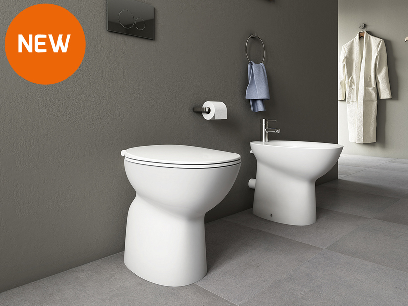 Berna Floor-Mount Rimless Sanitary Ware