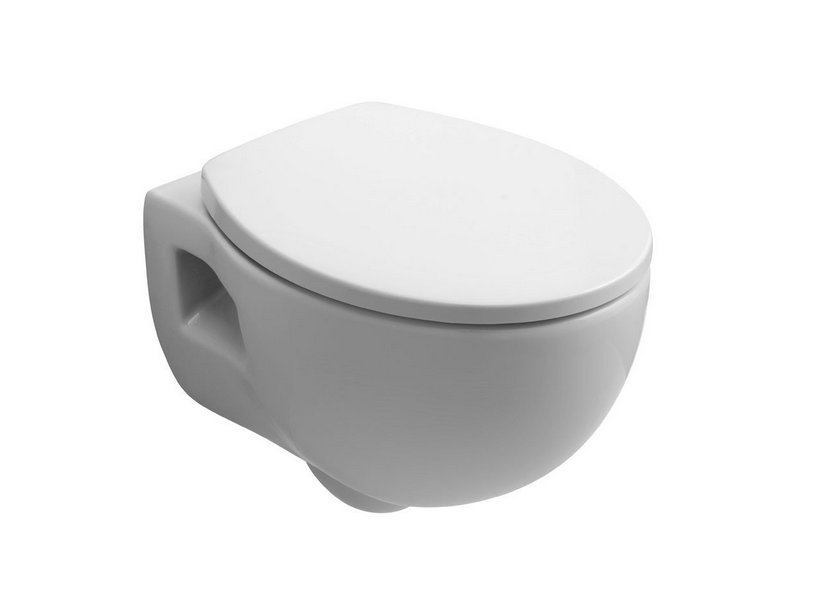 BIT WALL-HUNG PAN cm. 51x37,5 WHITE