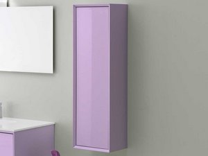BRERA COLOR COLUMN CABINET 33x109 REV. LILAC