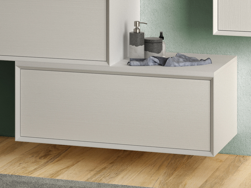 BRERA DRAWER L90 CM WHITE MILLERIGHE