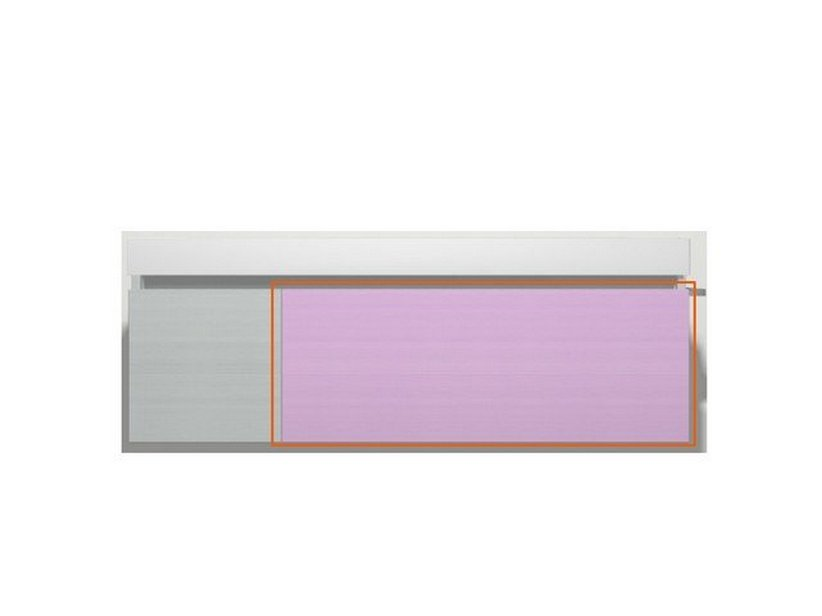 QUBO DRAWER 90/120 MATT LILAC