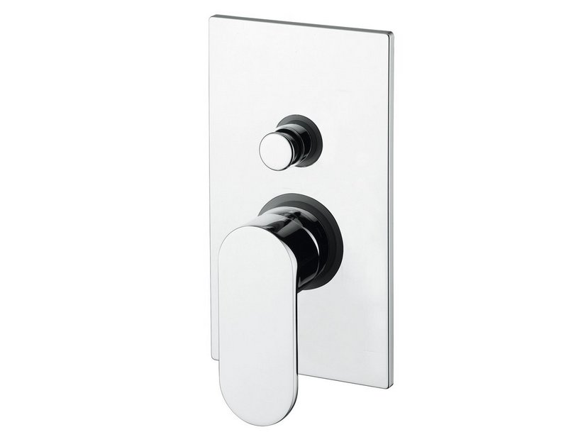 CASSIOPEA SHOWER MIXER TRIM WITH DIVERTER CHROME