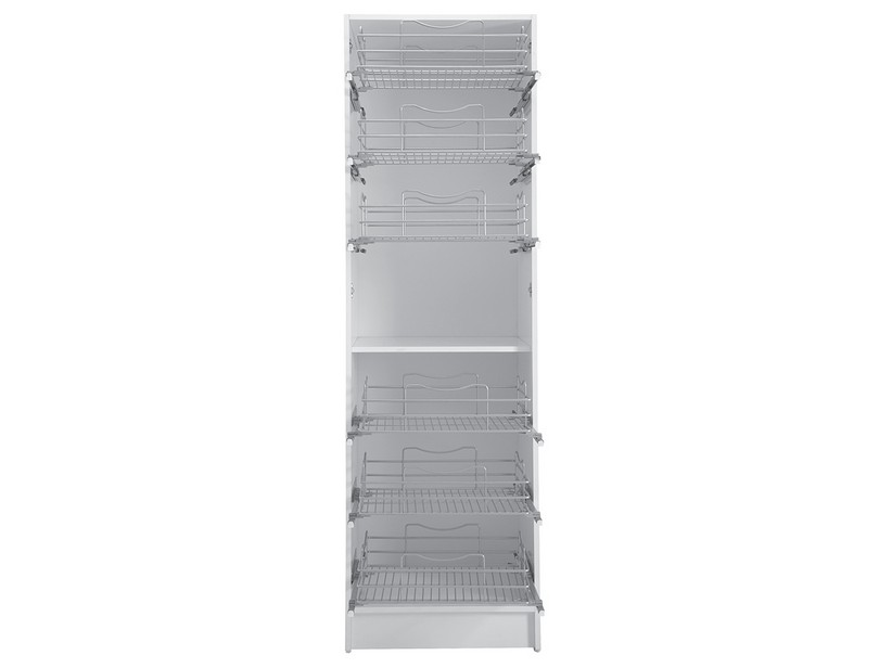 COLF3 COLUMN WITH PULL OUT CASES GLOSSY WHITE