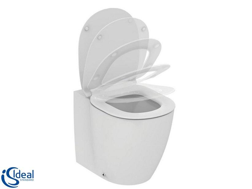 Sedile Wc Chiusura Rallentata.Ideal Standard Connect Wc Aquablade Sedile Con Chiusura Rallentato Iperceramica