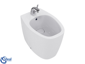 DEA WALL-HUNG BIDET WHITE MATT