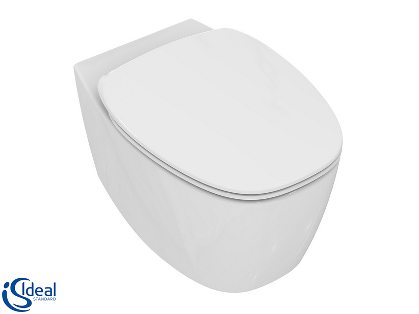 DEA WALL-HUNG PAN AQUABLADE GLOSSY WHITE