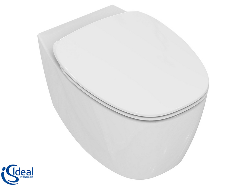 DEA WALL-HUNG PAN AQUABLADE WHITE MATT