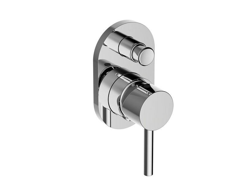DETROIT SHOWER MIXER TRIM WITH DIVERTER CHROME