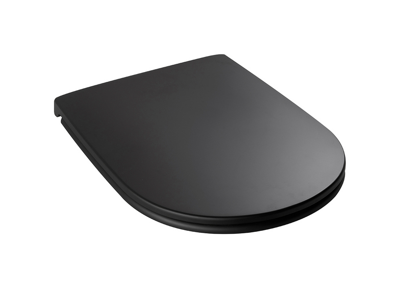 DP SOFT CLOSE TOILET SEAT BLACK MATT