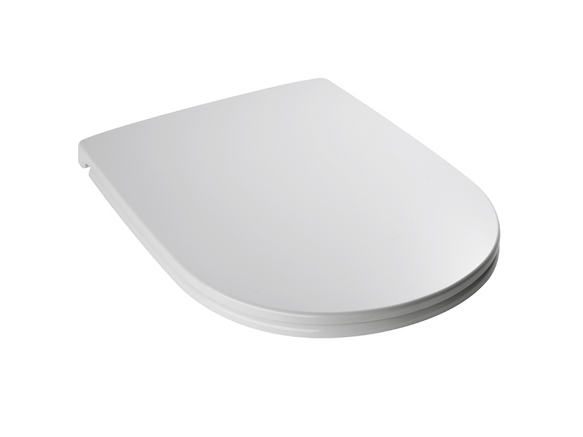 DP SOFT CLOSE TOILET SEAT WHITE