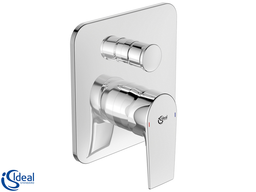 IDEAL STANDARD® EDGE SHOWER PLATE TRIM WITH DIVERTER CHROME