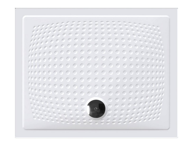 ENERGY SHOWER TRAY 80X100xH3,5 WHITE