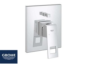 GROHE® EUROCUBE SHOWER MIXER TRIM WITH DIVERTER (PLATE)