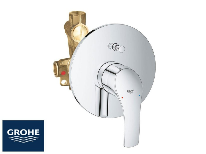 GROHE® EUROSMART NEW MIX SHOWER MIXER TRIM WITH DIVERTER CHROME