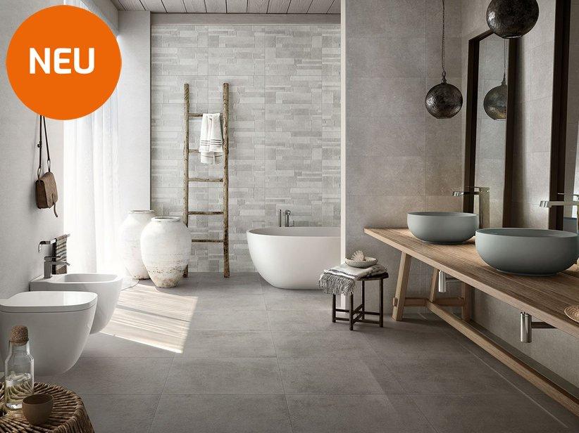 Boden Und Wandfliese Fur Das Badezimmer Mit Steinoptik