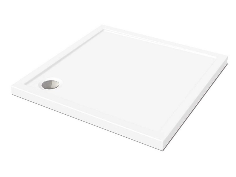 FLAT SHOWER TRAY 90X90 H5 WHITE