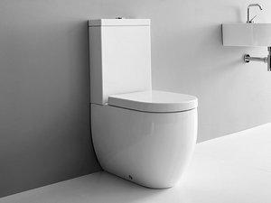 Vasi Monoblocco In Ceramica.Sanitari Monoblocco Wc Completo Di Vaso E Cassetta Iperceramica