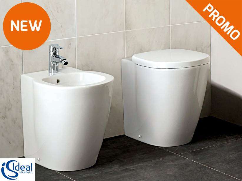 Connect Freedom Floor-Mount Back-to-Wall Sanitary Ware