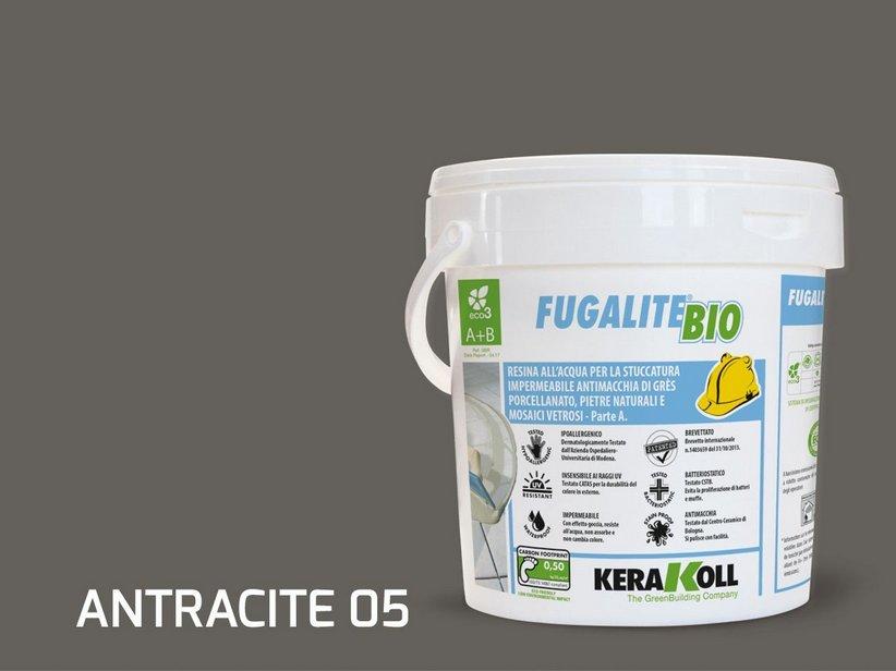 Kerakoll fugalite bio antracite kg stucco epossidico