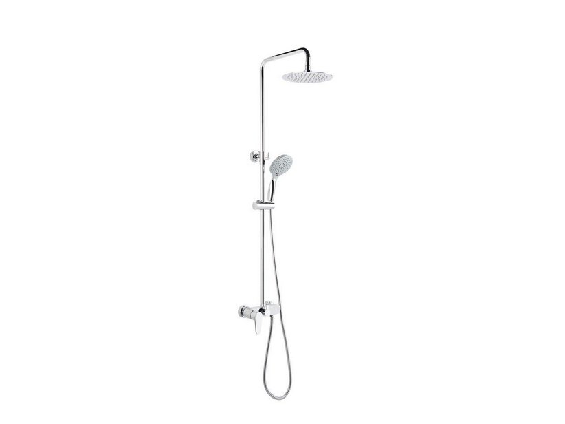 FUSION SHOWER COLUMN ROUND CHROME
