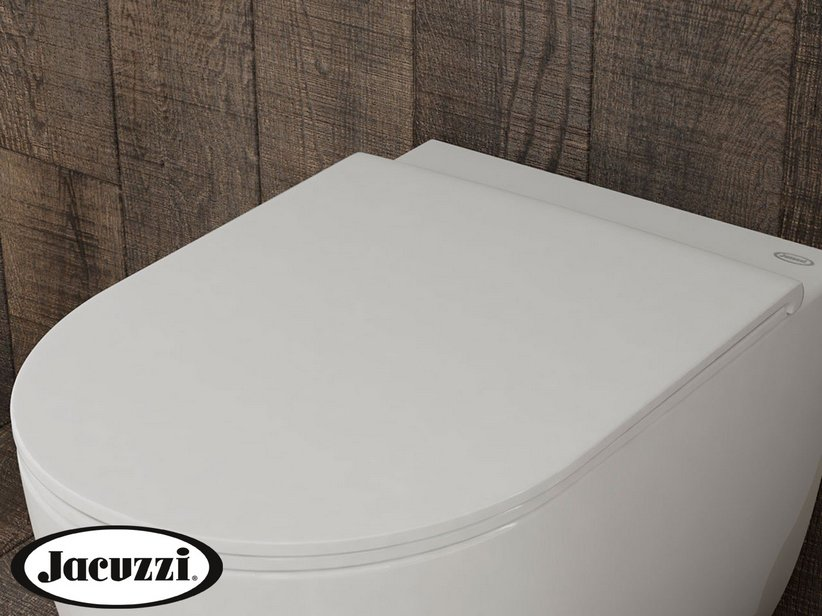 JACUZZI® GLOW THERMOSET TOILET SEAT WITH SOFT-CLOSE