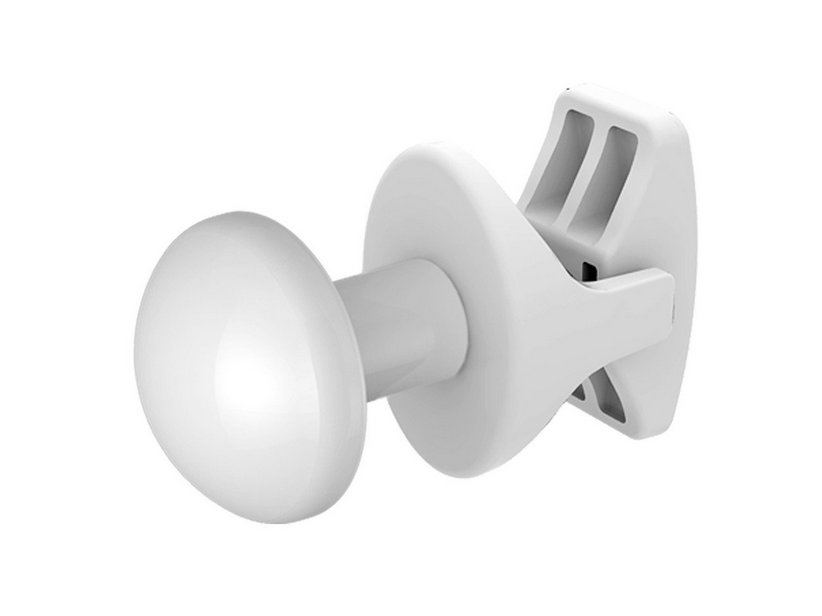 HANDY GRIP TOWEL RADIATOR HANGER WHITE