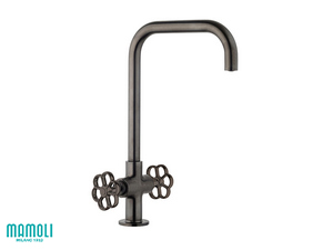 HIPSTER KITCHEN TAP SWIVEL BLACK BRUSHED PVD