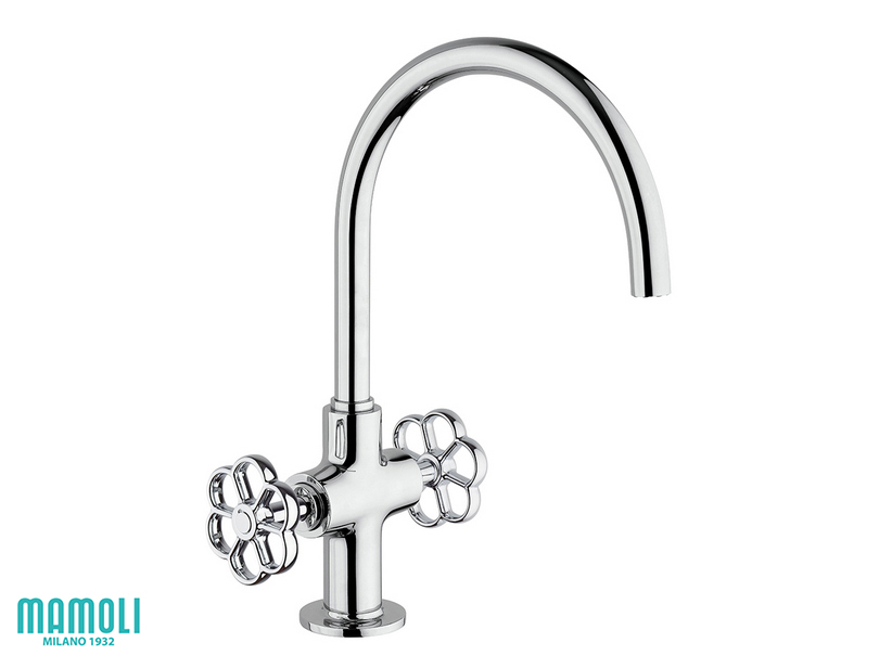 HIPSTER BASIN TAP WITH DRAIN 1'1/4 CHROME