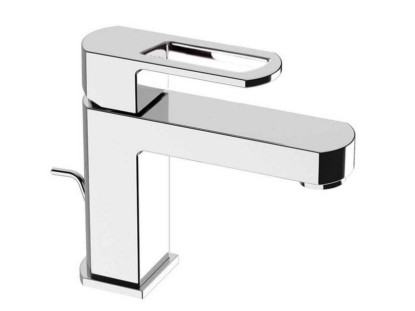 INFINITY CHROME BASIN TAP WITH DRAIN