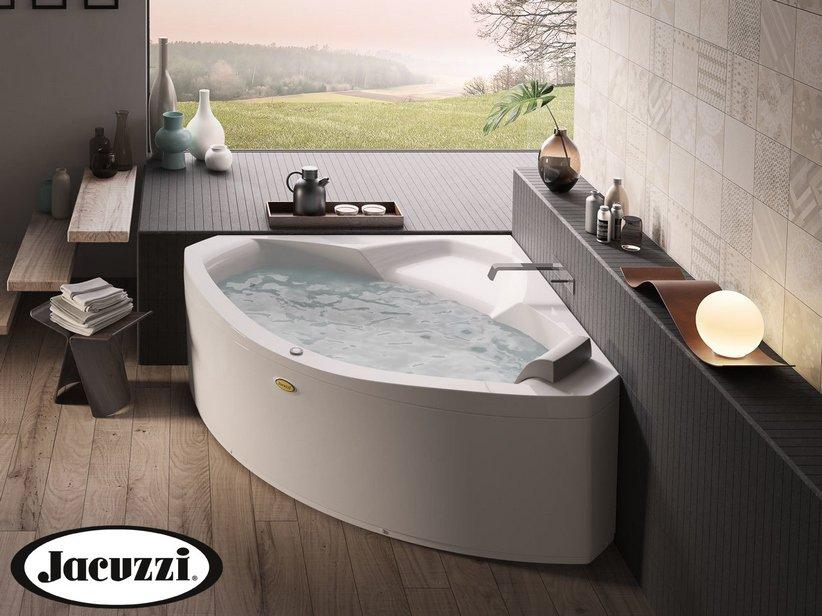 Vasche Da Bagno Angolari Iperceramica : Jacuzzi® vasca idro essential 130 145 iperceramica