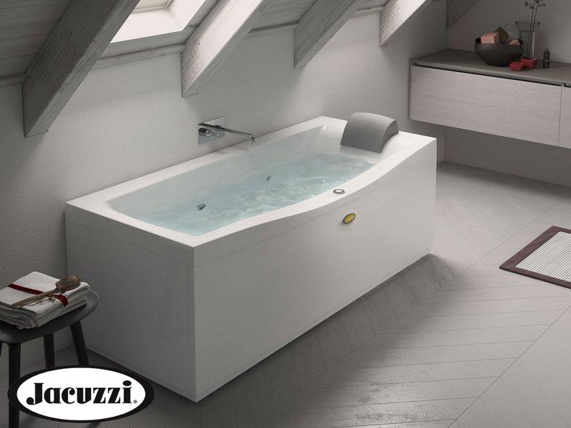 Vasche Da Bagno Angolari Iperceramica : Jacuzzi® vasca idro essential 170x70 destro iperceramica