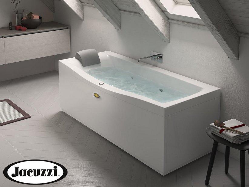 Vasca Da Bagno 170x70 Prezzo.Jacuzzi Vasca Idro Essential 170x70 Sinistro Iperceramica