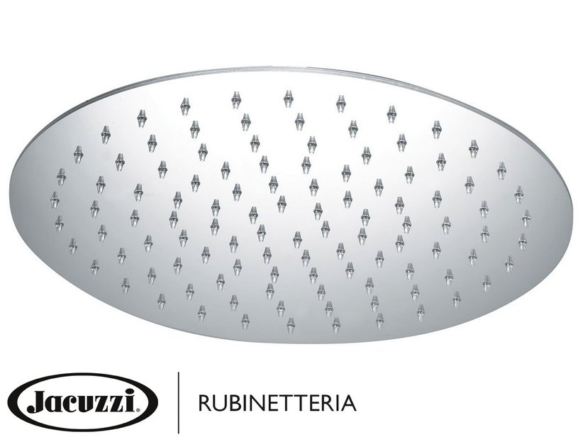 JACUZZI® CIRCLE INOX SHOWER HEAD sp.2mm Ø250