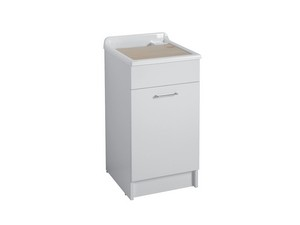 JOLLYWASH LAUNDRY SINK 45X60 GLOSSY WHITE
