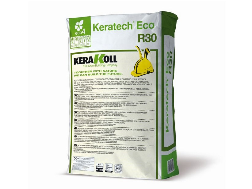 KERAKOLL KERATECH ECO R30 25 KG - AUTOLIVELLANTE