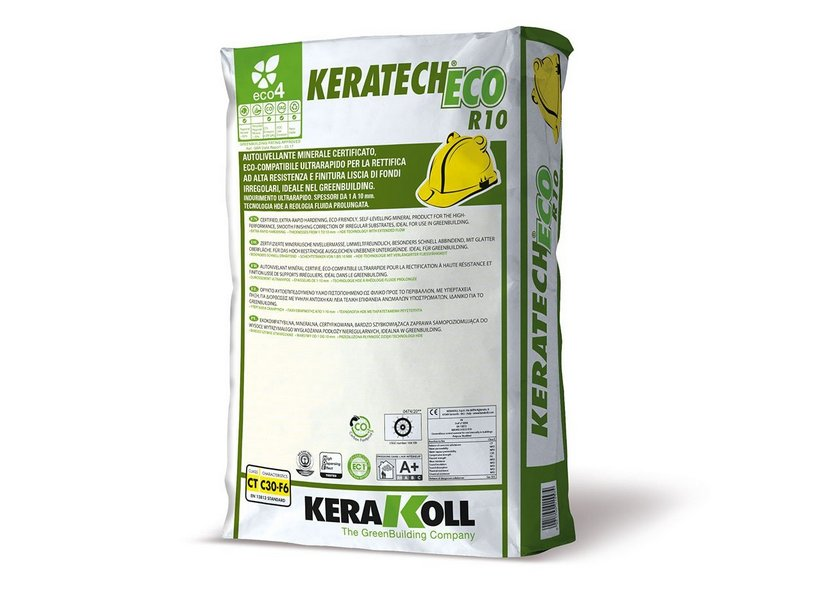 KERAKOLL KERATECH ECO R10 25 KG - AUTOLIVELLANTE