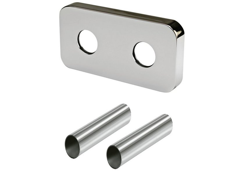 ROUND PIPE COVERING KIT FOR 50 mm. 0494 CHROME