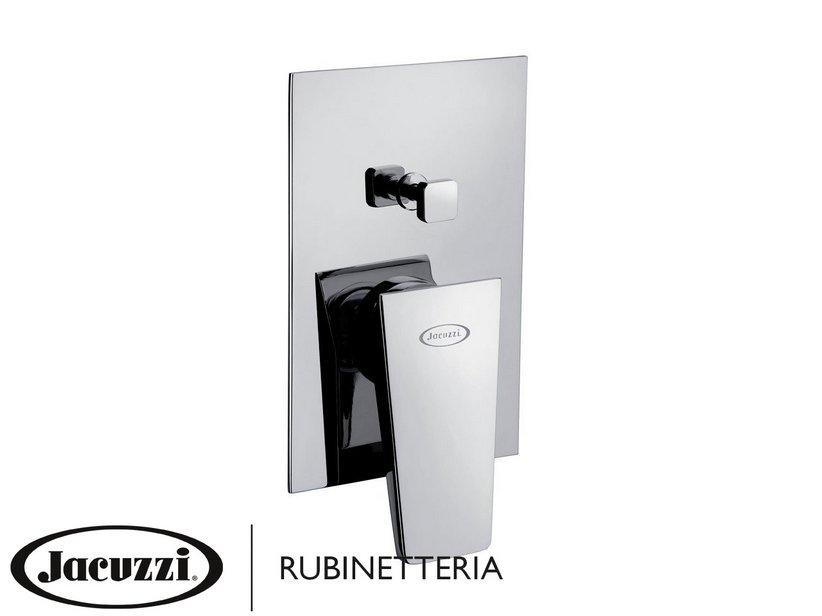 jacuzzi lama duschmischer unterputz mit umschaltventil iperceramica. Black Bedroom Furniture Sets. Home Design Ideas
