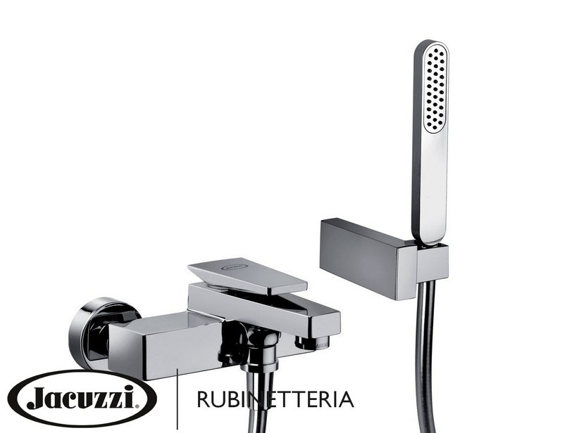 JACUZZI® LAMA BATH MIXER WITH HAND SHOWER CHROME