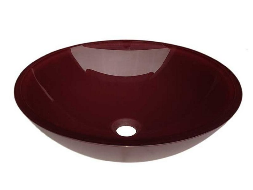 PUREGLASS SCHALE Ø42X14 RED PURPLE